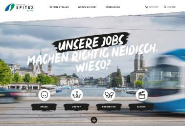 Spitex Zürich – attraktive Arbeitgeberin in der Gesundheitsbranche