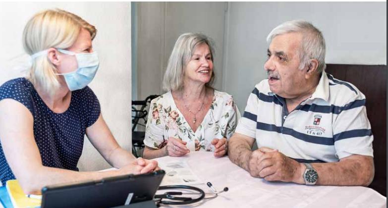 Zwischen Hausarztpraxis und Spitex-Organisation: Neue Wege in der Grundversorgung